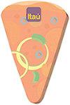 50 Sheet 4 x 6 Pizza Sticky Notes